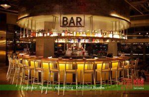 Thiết kế thi công nội thất quán Bar