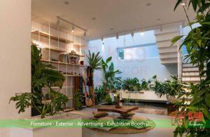 Thiết kế nội thất xanh