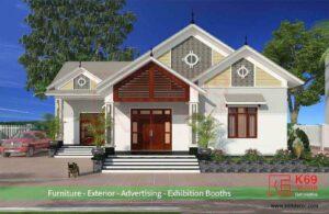 Thiết kế nhà cấp 4 nông thôn