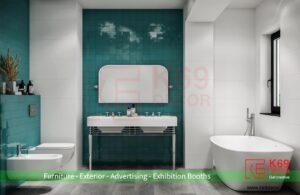 Thiết kế nhà tắm hiện đại